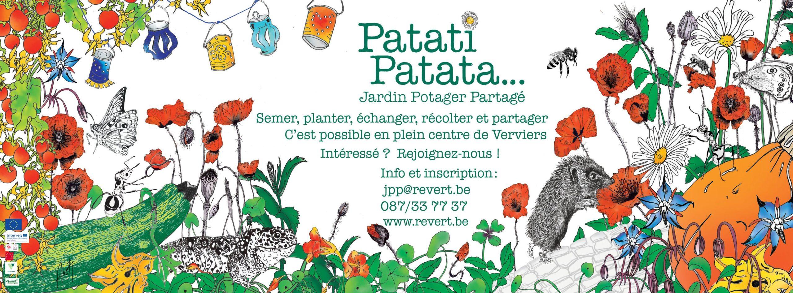banderole Jardin Patati Patata